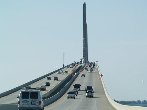Tampa Bay Bridge Florida Bridge Over Tampa Bay fl