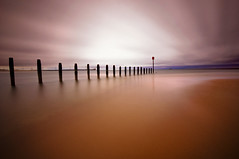 Next in Line (dan barron photography - landscape work) Tags: longexposure northumberland blyth groynes d90 sigm1020 10stop