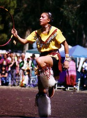 one hoop (Hoop Dancer) Tags: hoop ginger native dancer american stanford navajo sykes torres powwow