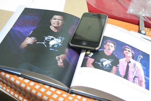 Sampler page of my custom photo book