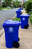 New Bins (Aaron Webb) Tags: arlington recycling arlingtonva recyclingbin bluebin ashtonheights singlestream arlingtonrecycling