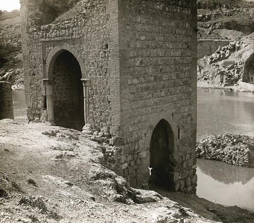 Baño de la Cava (Toledo) a principios del siglo XX