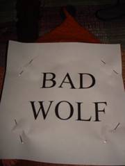 Bad wolf template