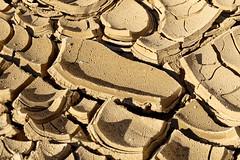 Anza-Borrego Desert State Park, Mud Hills Wash, Mud Cracks (darthjenni) Tags: california park trip travel vacation nature rock landscape outdoors desert mud state earth dry ground hike crack hills dirt trail wash riverbed borrego fractal silt anza parched borregosprings anzaborregodesertstatepark