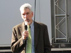 Mayor Funkhouser speaks