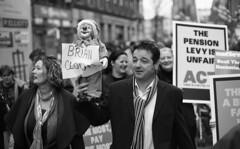 Brian Clown (Anthony Cronin) Tags: ireland dublin film analog 35mm rebel rally ishootfilm rebellion unions ac agfa rodinal apug ilford fp4 irlanda blackdiamond nikonf80 protestor fiannafail ilfordfp4 recession dubliners 50mmf14d dublinstreet tradeunions siptu politicalprotest agfarodinal workersrights taoiseach dublinstreets irishprimeminister ilfordfp4125 briancowen ©allrightsreserved publicprotest civilservants headofgovernment dublinlife streetsofdublin irishphotography lifeindublin filmisntdead irishleader irishhumour irishstreetphotography eldocumental y48filter antigovernmentprotest dublinstreetphotography streetphotographydublin paycuts pensionlevy anthonycronin filmdev:recipe=5201 fotografíadelacalle irishtradeunions brianclown humourousprotest paycutprotest pensionlevyprotest livingindublin insidedublin livinginireland streetphotographyireland callededublín tpastreet photangoirl