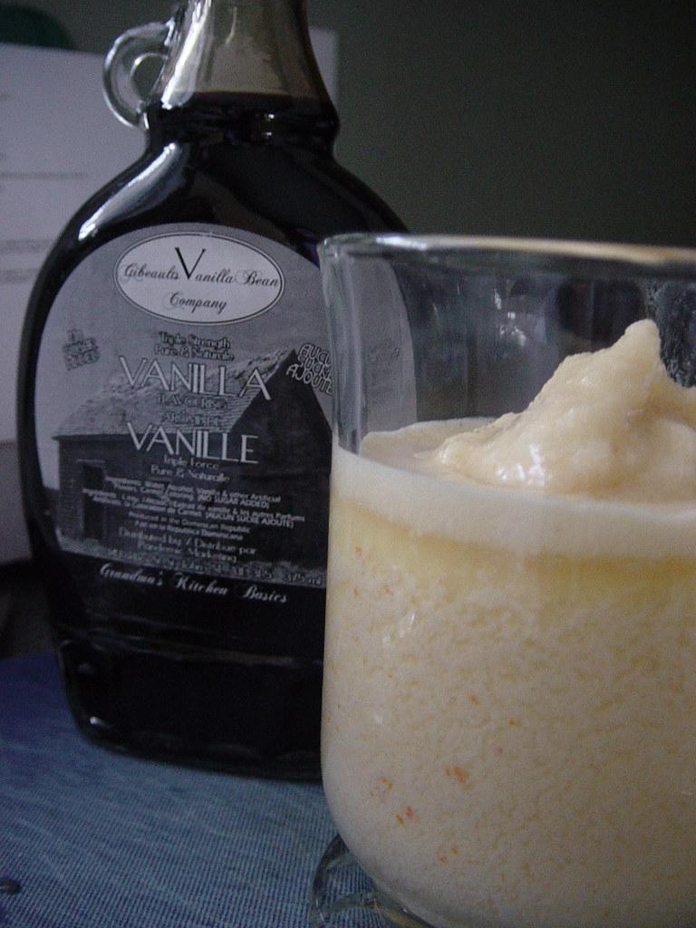 Vanilla test in Orange Julius