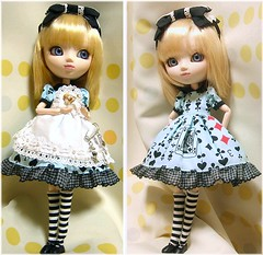 Alice Pullip03 (nami*&Chitaki) Tags: japan wonder toy outfit doll handmade alice girly lolita kawaii pullip  custompullip   nekonohitai