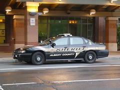 Albany County Sheriff Chevy Impala 9C1 (JLaw45) Tags: county ny newyork chevrolet airport police international chevy albany sheriff impala patrol interceptor 9c1