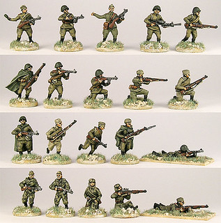 20mm Warmodelling Red Army Assault Troops (BERLIN)