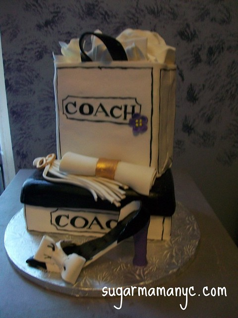 Coach Graduation Cake