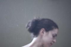 149/365 (Rosieposy) Tags: light hair profile scratches screen headshot dirty bun notextureadded afternotchoosingthis365foralongtimeijustdecidedtogowithmypersonalfavorite mymomthinksilooklikemycousin
