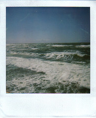 balticsea1 (TI_MO) Tags: sea beach strand polaroid balticsea baltic 600 expired ostsee 2009