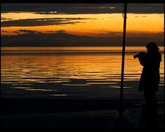 you will always be in my heart (maios) Tags: camera travel sunset sea sky woman cloud water reflections greek photo europa flickr photographer hellas greece macedonia thessaloniki fotografia salonica manikis maios iosif  heliography             evamathemat    iosifmanikis