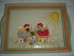 bandeja de galinhas (Renata ...) Tags: bandeja galinhas bandejadegalinha