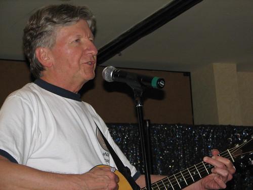 F. Paul Wilson on guitar