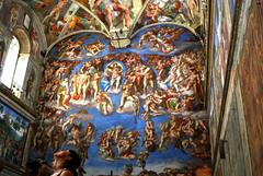 Last Judgement, Sistine Chapel (Sunil Shinde) Tags: vatican rome italy europe michelangelo sistinechapel museum bernini renaissance