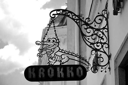 Krokko cipőbolt / Shoe shop