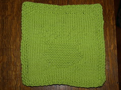 Pot of Gold in Green! March 2009 (laurism) Tags: knitting 2009 kal dishcloths