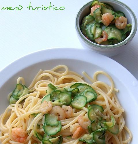zucchino e gamberetti 005