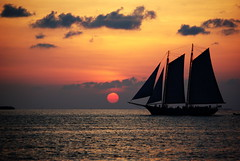 Key West Sunset (rskoon (Richard)) Tags: family sunset vacation seascape sailboat keys florida atlantic keywest ketch aficionados pentaxk10d smcpda50200mmf456ed