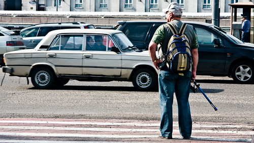 Moscow Zebra Crossing