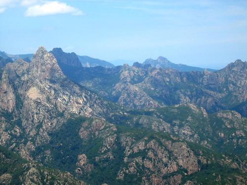 Bocca di Lariciu, Punta di Bonifacio, Punta Tafunata di Paliri, Punta di l'Anima Damnata, Monte Bracciutu
