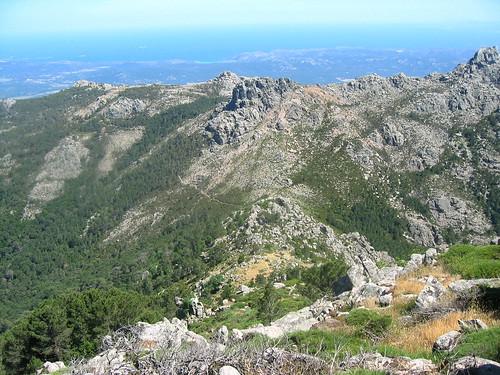 Entre Morello et Arjetu (détour par la crête de Compolelli) : le sentier Arjetu-Bitalza depuis Punta Compolelli