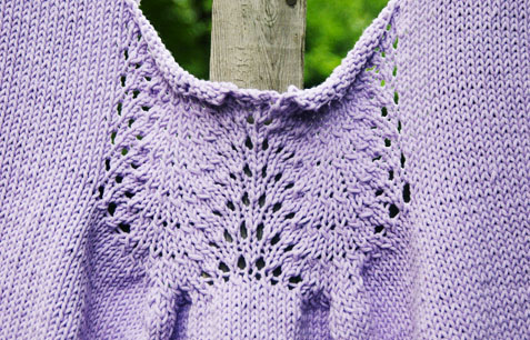summer knitting