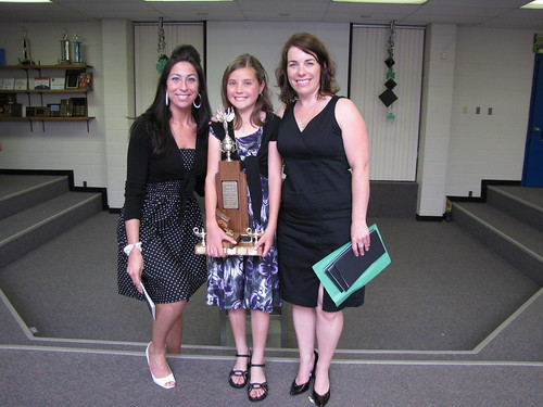 Sara with Mme. DeNardis and Ms. Dougan