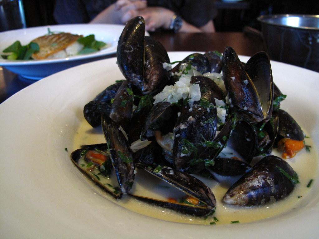 Steamed Wild Irish Mussels