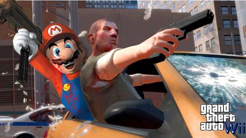 GTA Wii Mash up