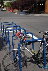 new bike corrals on N. Williams-4