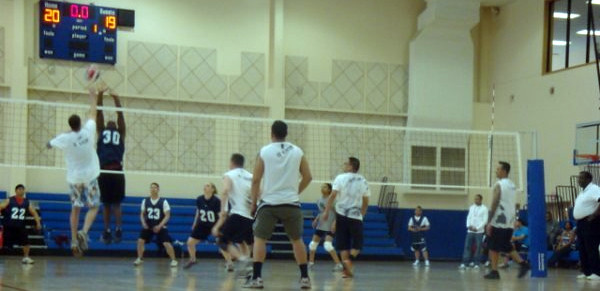 Volleyball Champs by USAG-Humphreys