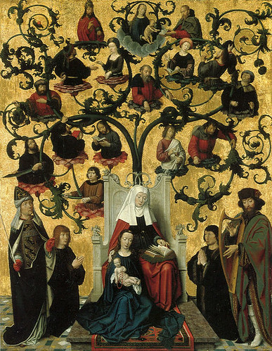 ANCESTORS OF THE BLESSED VIRGIN MARY