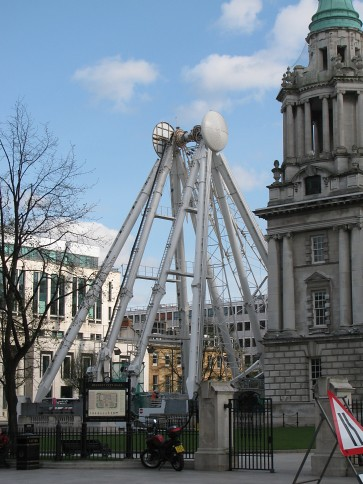 Deconstruction of Belfast Wheel #2