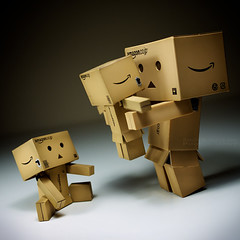 040/365:  Will You Be Our Mother? (Randy Santa-Ana) Tags: family baby toys twins mother danbo gf1 project365 danboard minidanboard minidanbo 365daysofdanbo