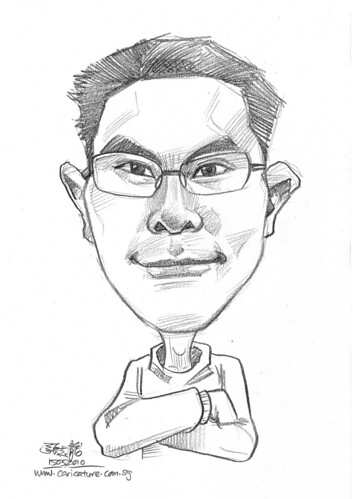 caricature for Hello Technology - 2
