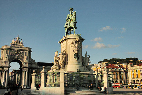 Praça do Comercio, Lisbona