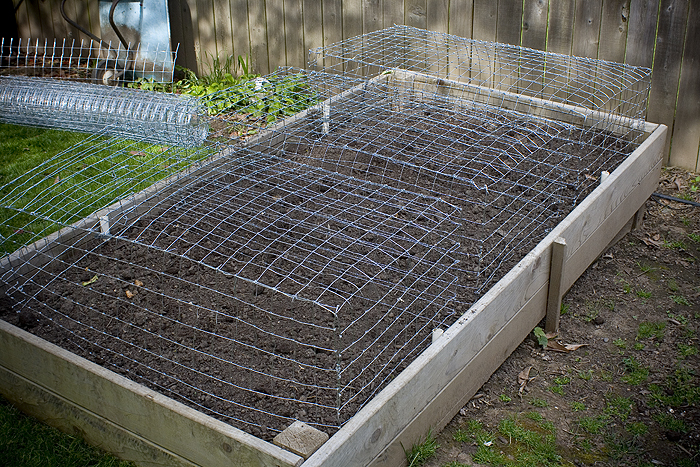 cages for raised beds