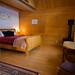 Loft Chalet Interior / Photo by Eric Berger