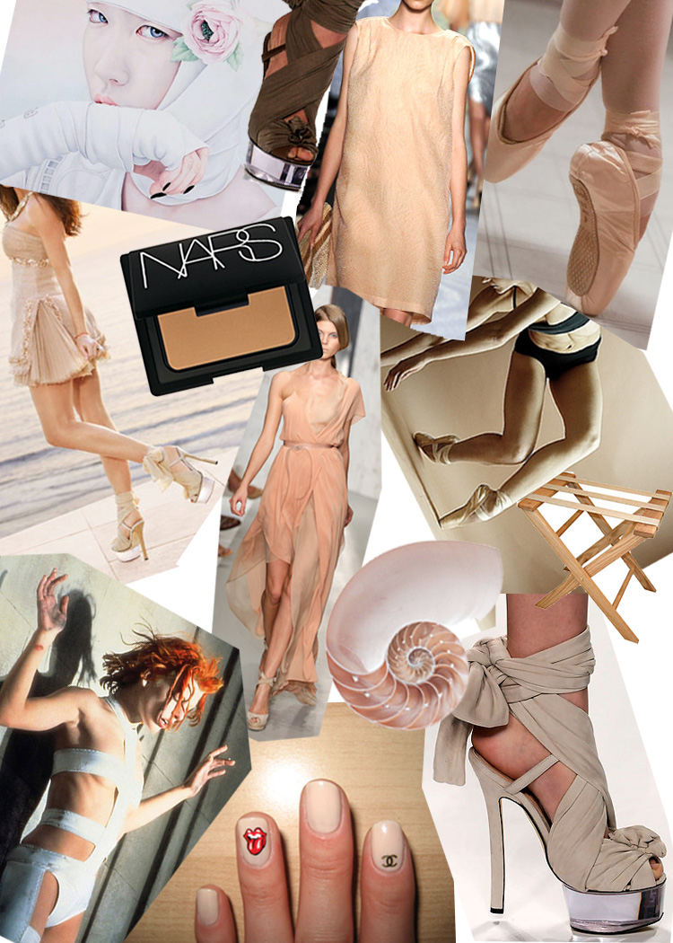 Fendi DIY wrap heels shoes SS2010 by PS I MADE THIS inspiration