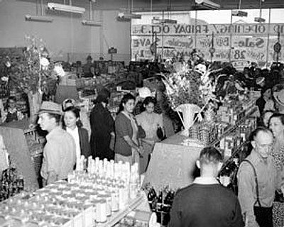 Westside Food Center Lompoc 1943