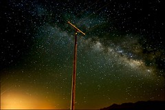 lines of power (jody9) Tags: powerlines milkyway starrystarrynight