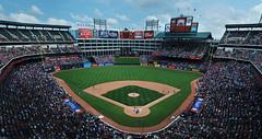 Texas Rangers Baseball Stadium (BHagen) Tags: panorama dallas nikon texas baseball stadium texasrangers arlingtontx d80