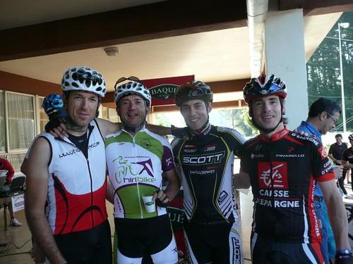 Quebrantahuesos 2010. 5 semanas. Spinning y bicicleta de carretera, Iban Mayo Martxa y Urkiola