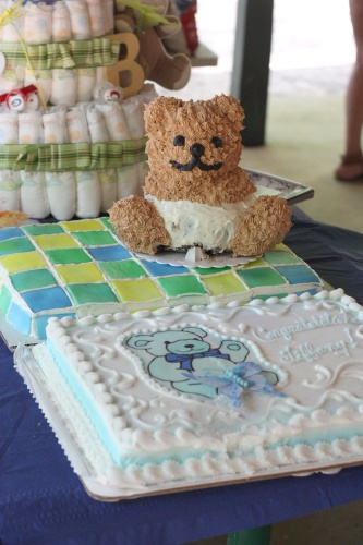 Other baby shower cakes