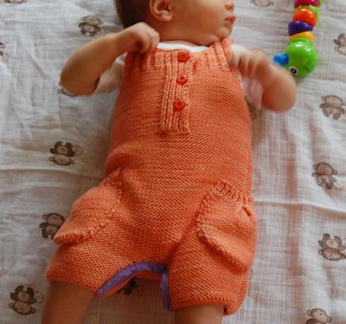 Orange Onesie