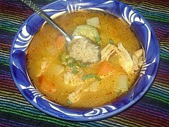 Spicy Chicken and Rice Soup (mexmama74) Tags: chickensoup caldodepollo