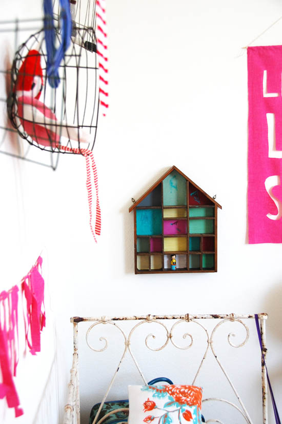 dollhouse shadow box
